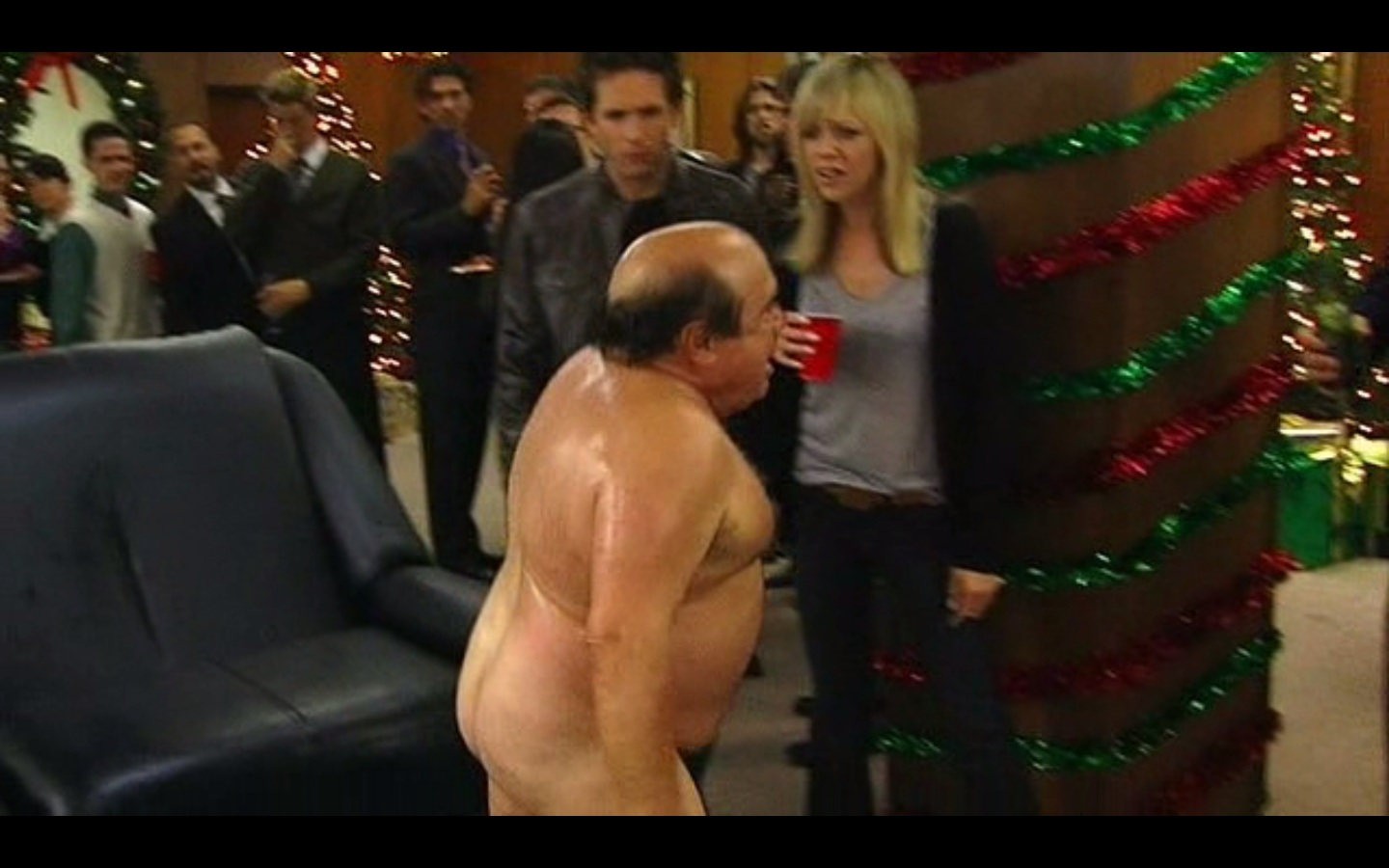 Danny DeVito Ponders Getting Naked With Angelina