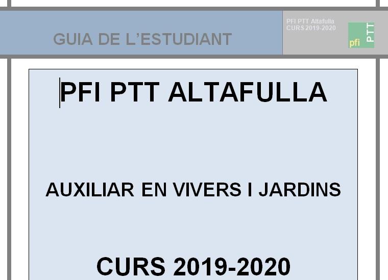 GUIA ESTUDIANT CURS 2019-2020