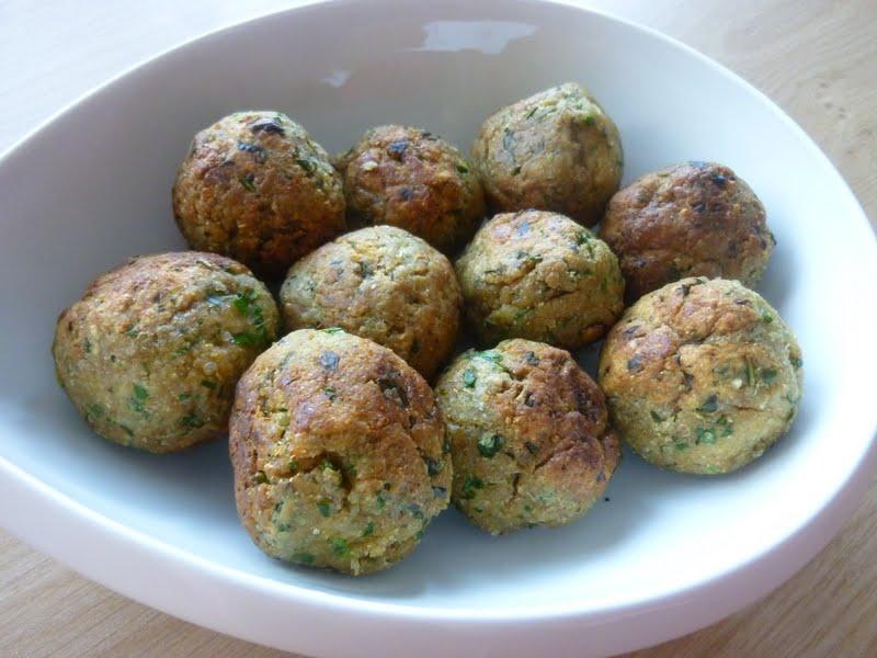 boulette quinoa vegan