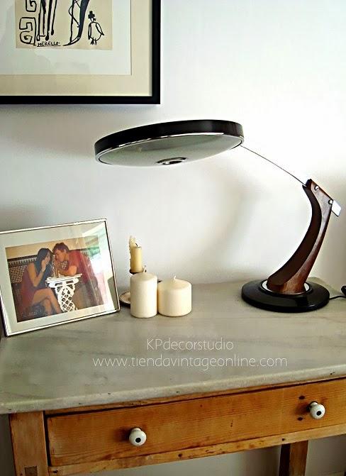 Comprar lámpara de despacho tipo GEI años 50 y 60.