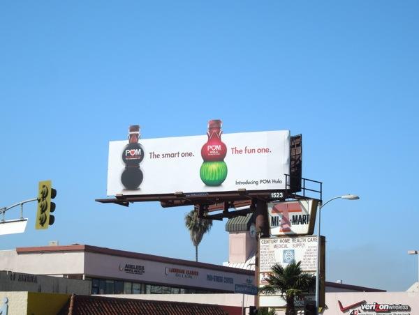 Pom Hula extension billboard