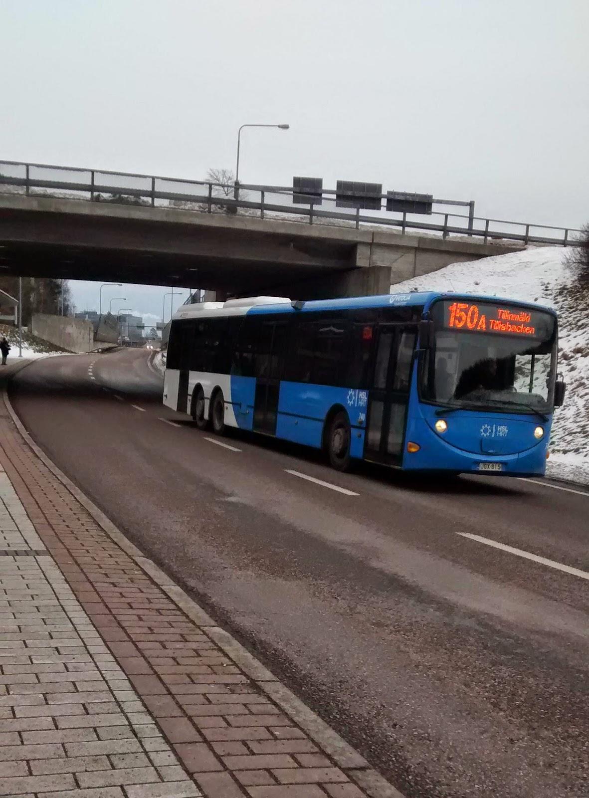 Ônibus em Helsinki