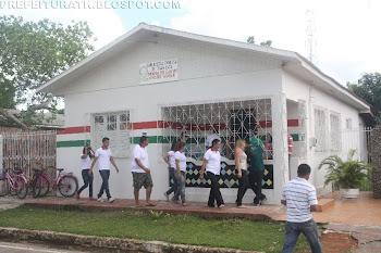 INAUGURAÇÃO DA BIBLIOTECA MUNICIPAL - FOTOS DAS FESTIVIDADES DOS 99 ANOS DE TARAUACÁ (24)