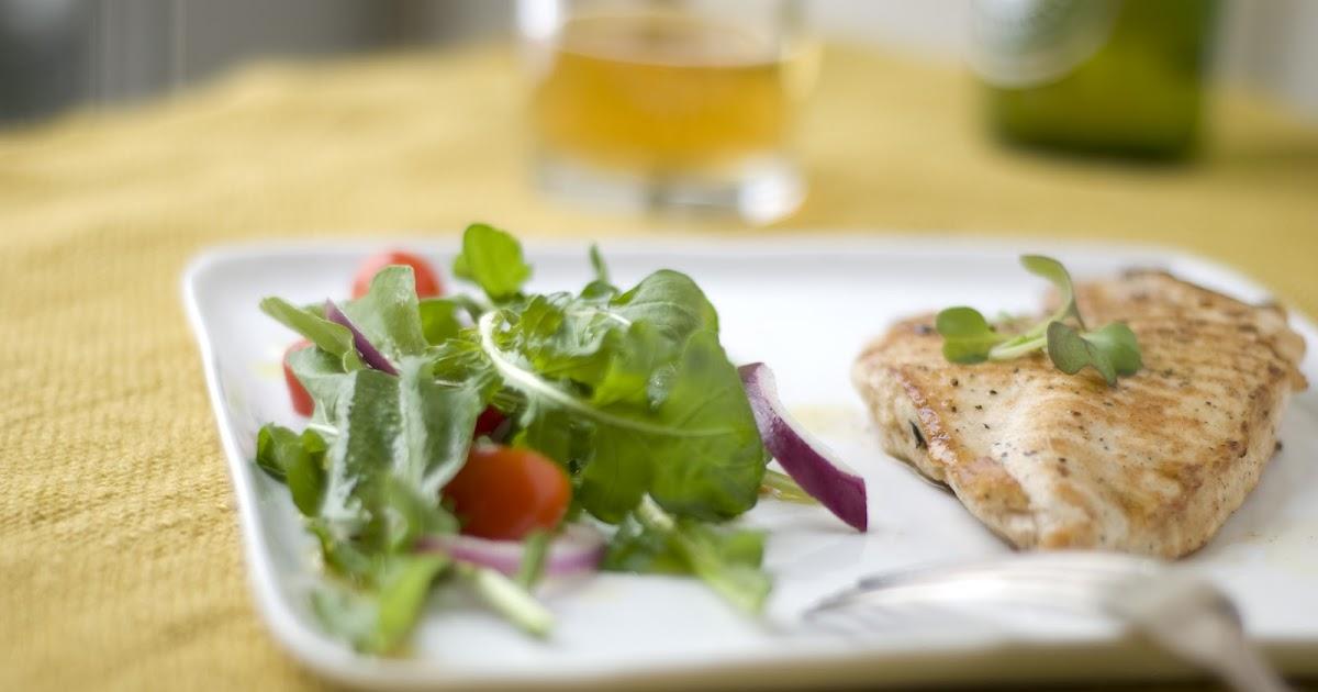Grilled Chicken Paillard With Arugula Salad A Suburban Kitchen