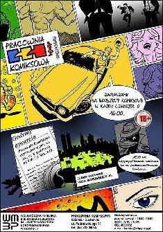 Pracownia Komiksowa: Czwartkowe warsztaty komiksowe z Łukaszem Godlewskim i Maciejem Czapiewskim