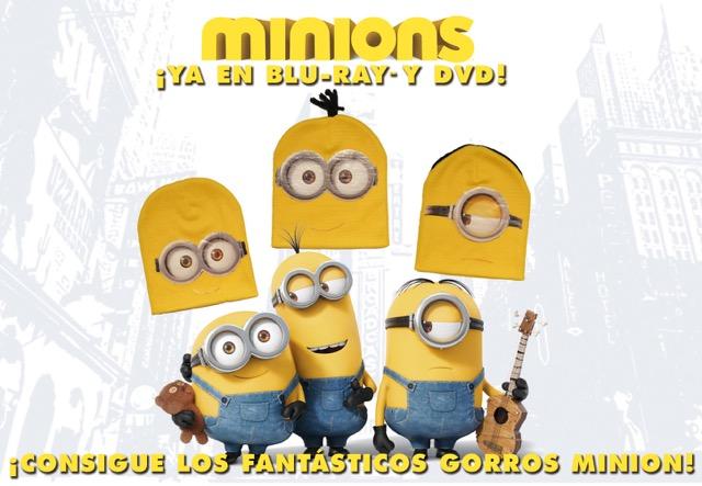 Concurso 'Minions': Gana un fantástico y exclusivo gorro de tus personajes favoritos