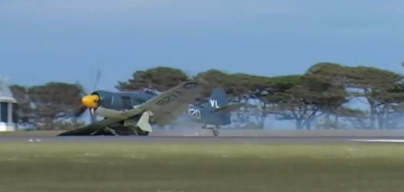 http://www.flyingmag.com/technique/accidents/video-hawker-sea-fury-crash-lands-airshow