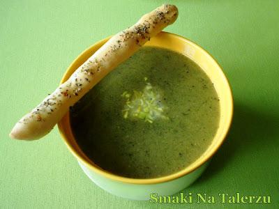 zupa kremowa krem brukselkowa z rukolą