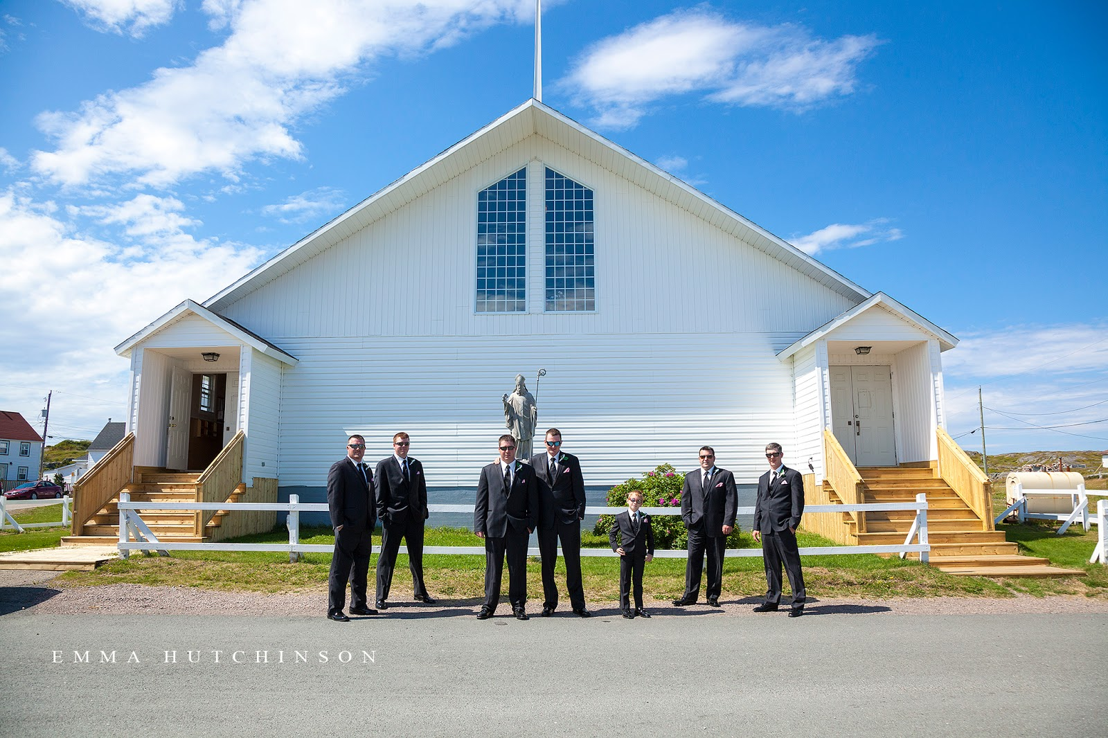 Weddings in Tilting, Fogo Island - St. Patrick's Parish Church