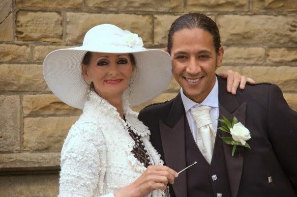 Lady Grace Mountbatten & her eldest living son Eri Mountbatten