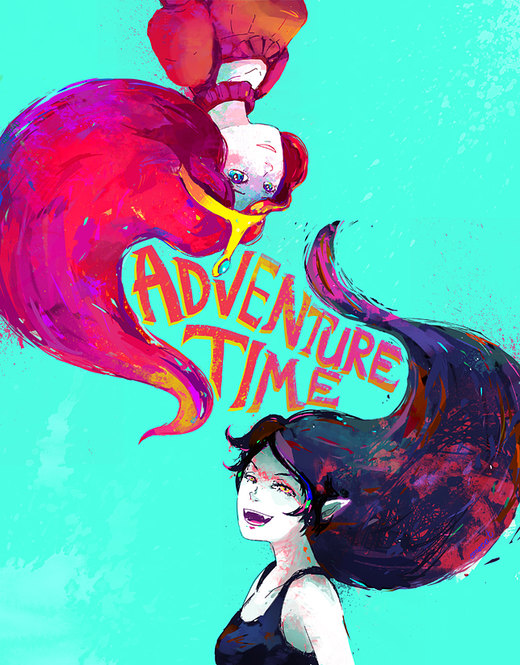 ADVENTURE TIME por Traptastic