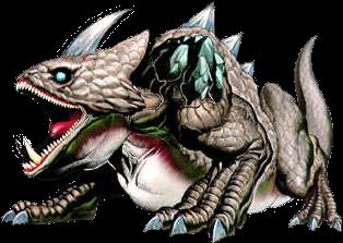 King Dodongo from Legend of Zelda: Ocarina of Time, Infernal Dinosaur