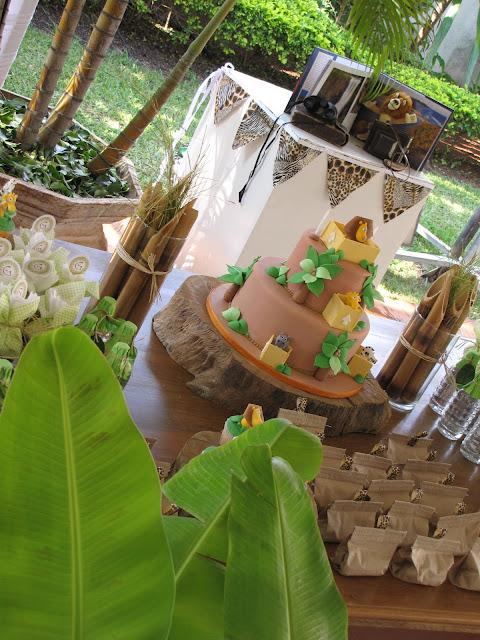 Festa Na Floresta! Decoração Para Festa Infantil ~ Decoracao Festa Na Floresta