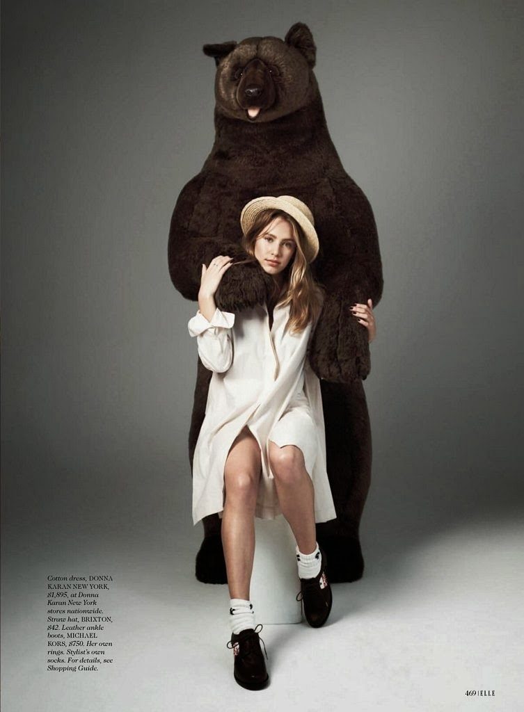 Dylan Penn HQ Pictures Elle Magazine Photoshoot March 2014