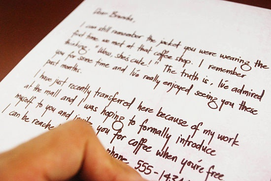 How to Write a Love Letter a Man Will Appreciate