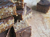 Raw Peanut Butter Cocoa Maple Squares
