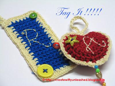 Crochet tags