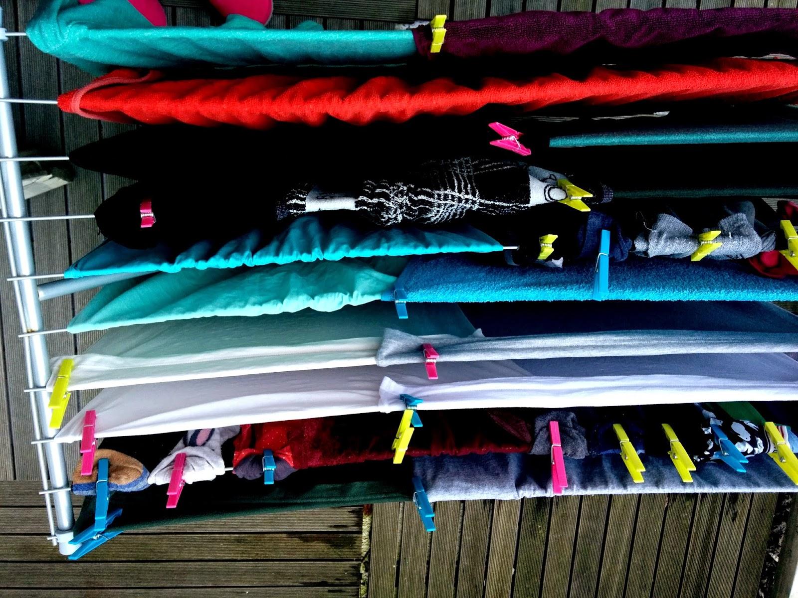 Tendederos para la ropa