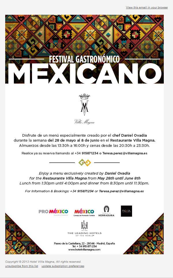 Festival Gastronómico mexicano en Madrid