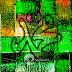 Lukisan Kaligrafi Muhammad Modern Hijau MD-077