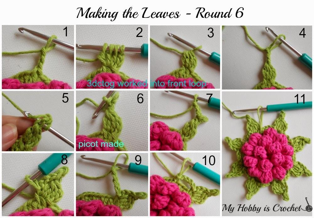 My Hobby Is Crochet Majestic Bloom Granny Square Free Crochet