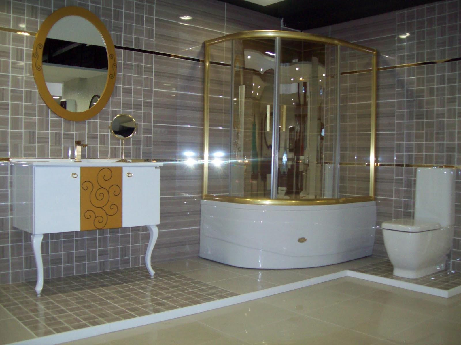 Bathroom design grey