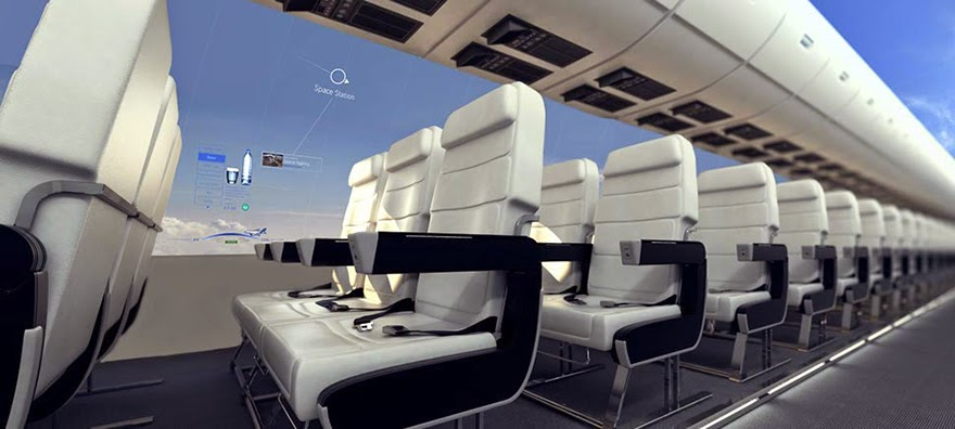 In 10 Years, Windowless Planes Will Give Passengers A Panoramic View Of The Sky