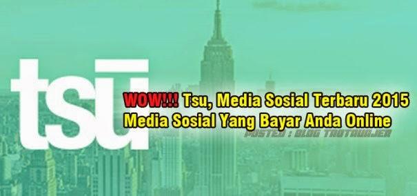 Tsu, Media Sosial Terbaru 2015
