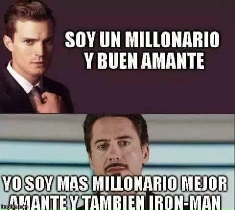 Grey vs Tony stark