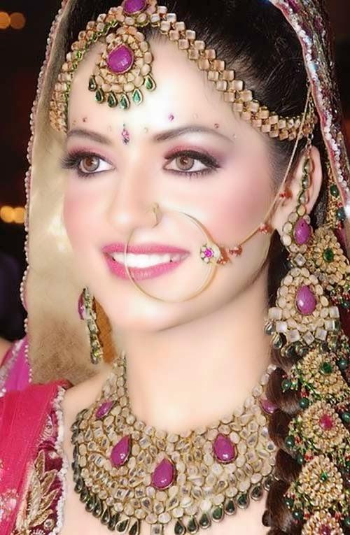Awesome She 9 Style Beautiful Bridal Faces  Bridal Makeup  Pakistani Brides