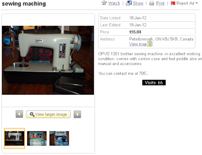 Opus brother sewing machine