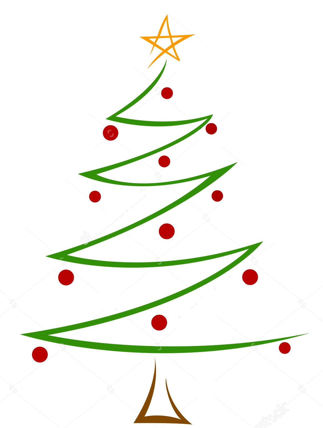 All that love can do 12 doc tutorial christmas tree - Clipart sapin de noel ...