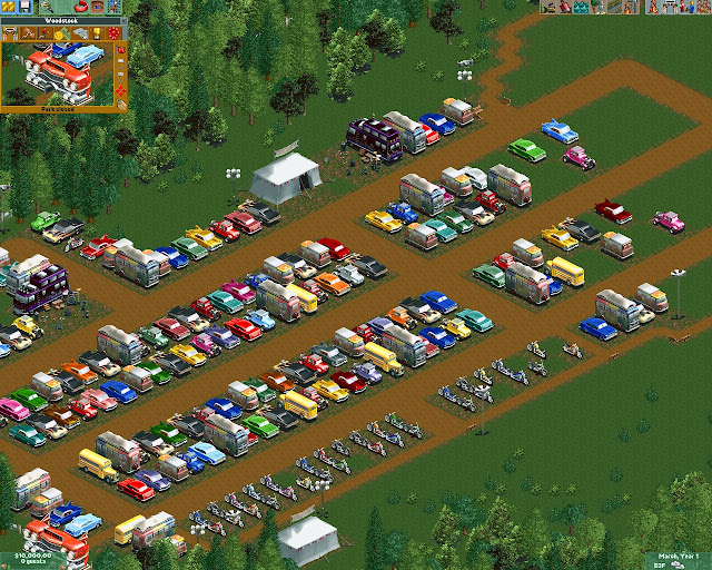RollerCoaster Tycoon 2 - Cars  Park Screenshot