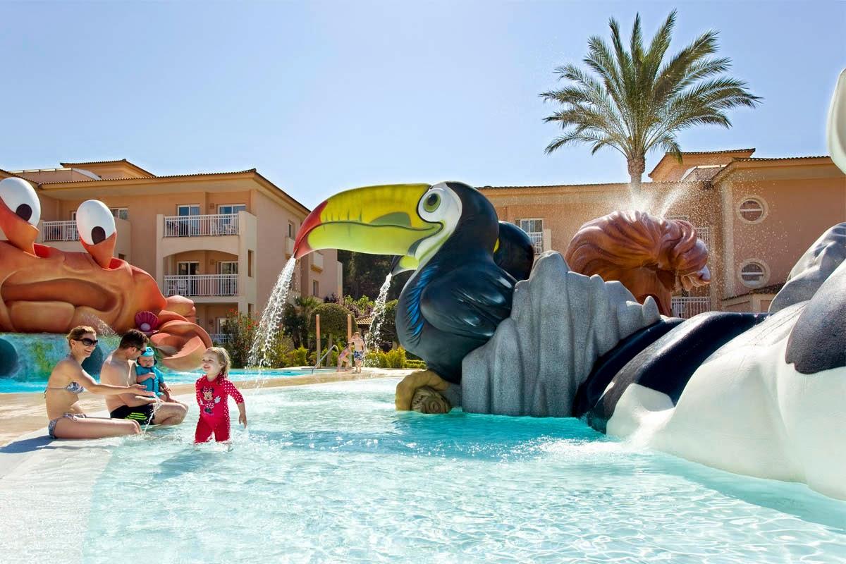 Hoteles para ni os pollensa mallorca hotel aparthotel playa mar spa - Hoteles con piscinas para ninos ...