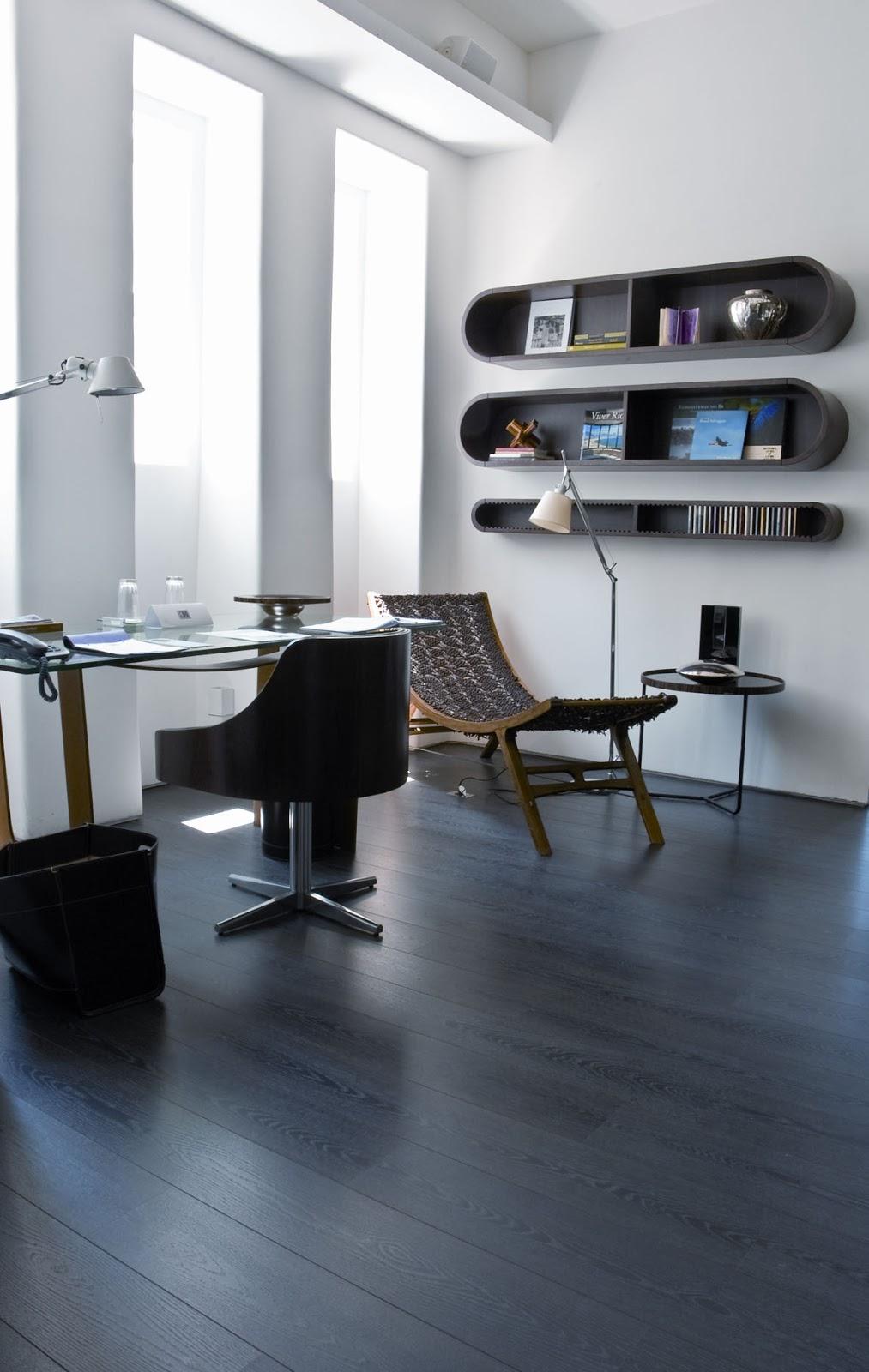 Ateli revestimentos dicas para decorar com pisos escuros for Piso 0 salas de estudo e atl