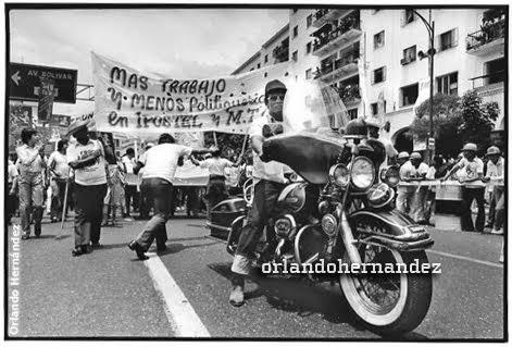 1º Mayo 1981. Día del Trabajador. Caracas