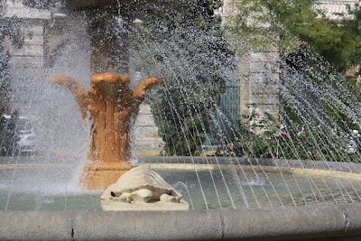 Turtle's Fountain in Cadiz