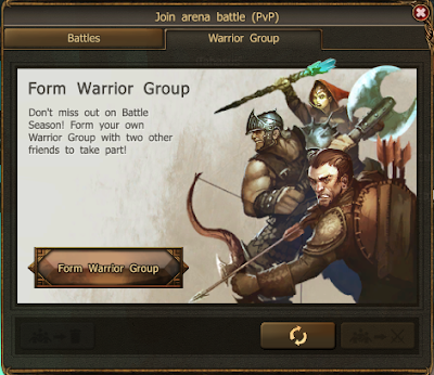 Drakensang Online Warrior Groups