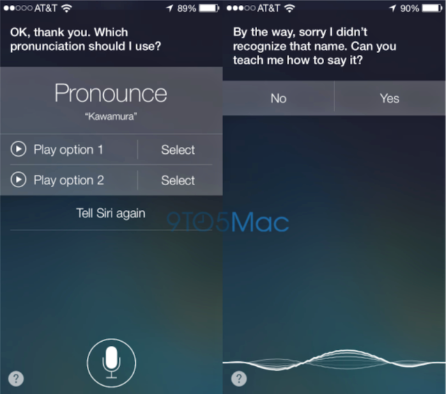 Teach Siri how to pronounce words