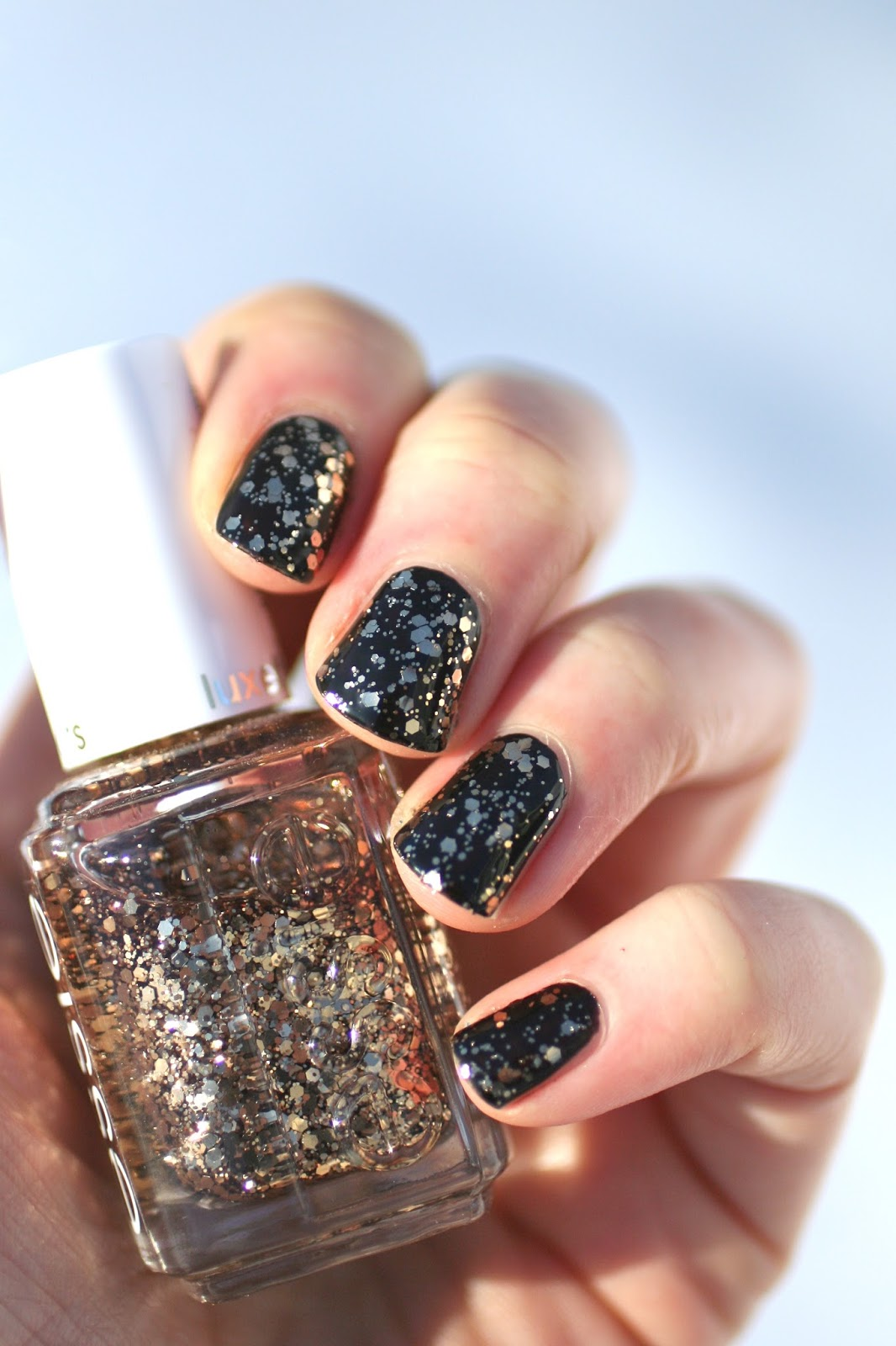 Essie Luxeffects Nail Polish Sparkle On Top - CrossfitHPU