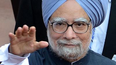 Primer ministro indio, Manmohan Singh