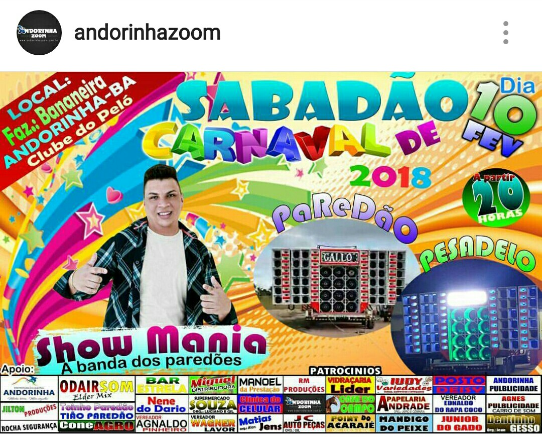 Sábadão de Carnaval