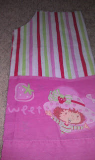 Strawberry Shortcake Pillowcase Dress