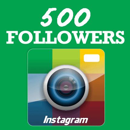 500 Instagram Followers