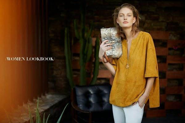 moda primavera Massimo Dutti mujer caftan bolso pantalón blanco