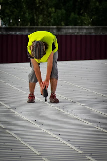 Riveting the Rails - SolBond Solar Mounting System