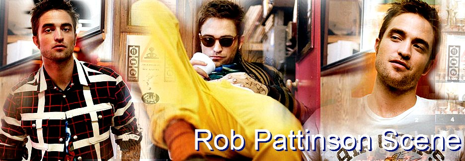 Rob Pattinson Scene