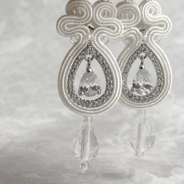 Biżuteria śłubna z kryształami Swarovski