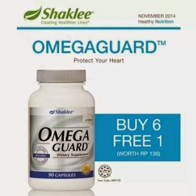Promosi, Produk SHAKLEE, Pengedar Shaklee Kuantan, Omega Guard, Info, Kongsi,