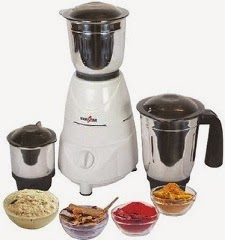 Speacial Price: Flat 50% Off on Kenstar KMU50W3S 500 Mixer Grinder (3 Jars) worth Rs.2995 for Rs.1495 Only @ Flipkart